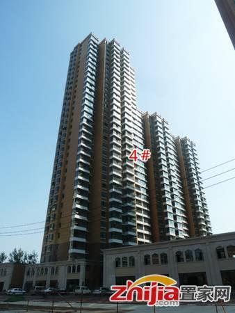 汉成华都 4#楼施工实景照
