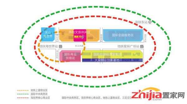 天山世界之门 交通图