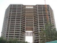 盛泰中国中国 项目已封顶,正在做内分隔墙