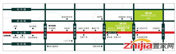 瑞城广场 交通图