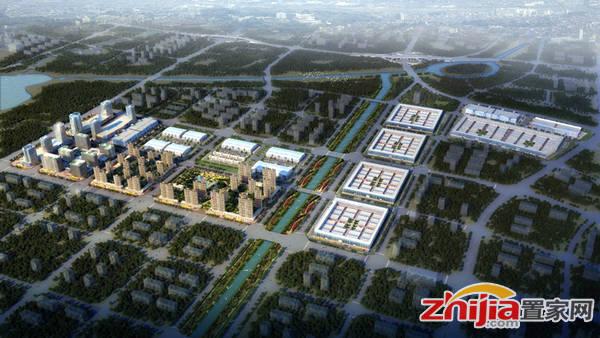 邯郸华耀城 项目鸟瞰图