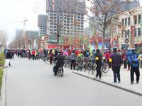 """中船·汉光华府 """"倡导环保生活理念 助力绿色邯郸骑行""""绿色骑行邀请赛现场盛况"""