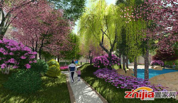 国赫·金悦府 项目园林效果图
