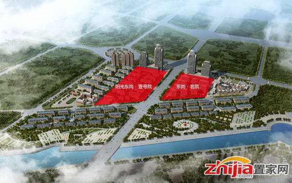 东尚名筑 已经开发地块