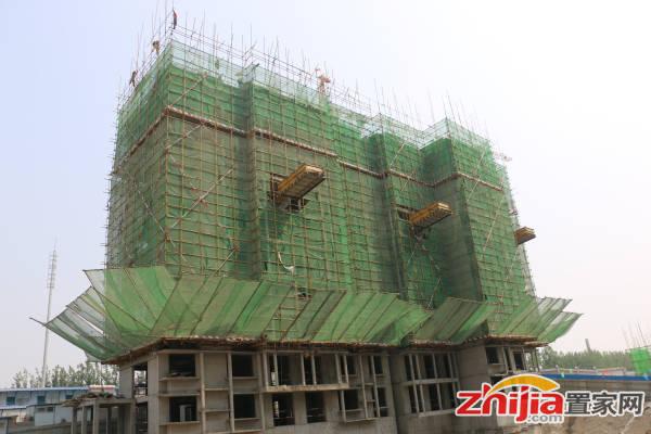 厚德福城 4#楼11层开始施工