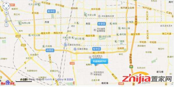 荣盛锦绣学府 交通图