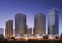 河北国际商会广场 夜景