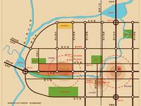 百家新城·尚苑 交通区位图