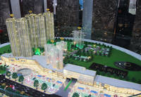 站南旺角 沙盘模型