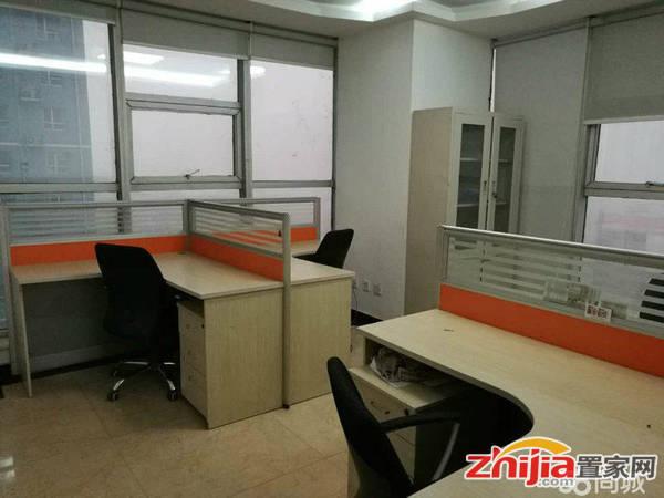 钻石广场精装写字楼带办公家具 有独立办公室会议室