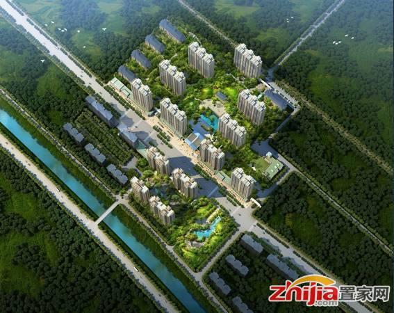 东城国际 鸟瞰图