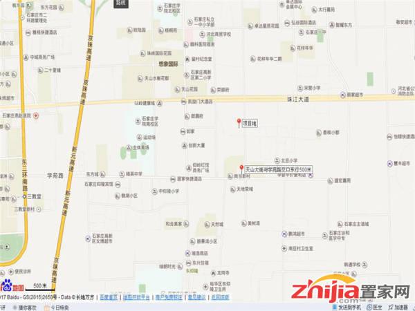 东海盛景三期项目 东海盛景三期位置图