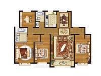 荣科翔苑4室2厅2卫户型图