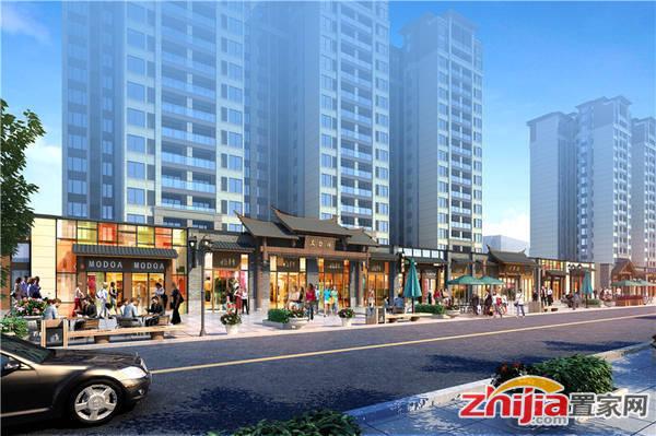 桂林万达城 商铺效果图