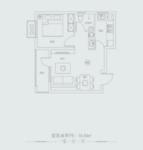 天鸿世家1室户型图