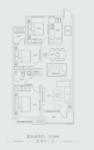 天鸿世家3室户型图
