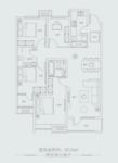 天鸿世家4室户型图