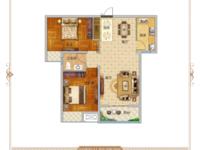 东尚名品2室2厅1卫户型图