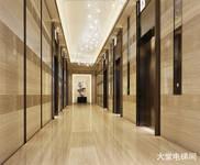 戴斯邯郸壹号-壹公馆 一楼大堂电梯间