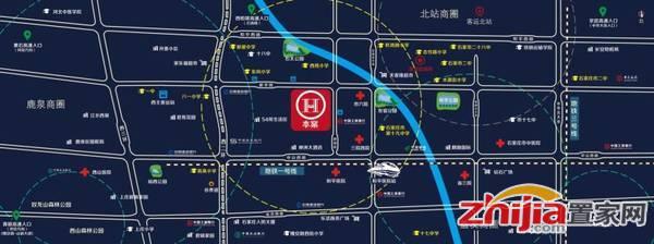 华业家居生活广场 区位图