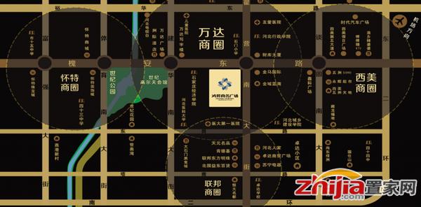 鸿昇广场  区位图