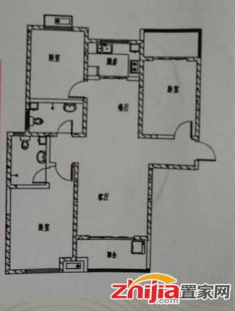 急售 东龙府D 包更名带家具家电 精装偏门南北通透 三室两厅两卫