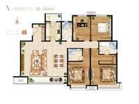 石家庄富力城4室2厅3卫户型图