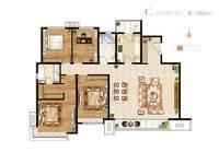 石家庄富力城4室2厅2卫户型图