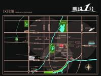 明珠1号 交通图