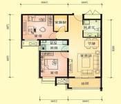 盛世长安 2500元 2室1厅1卫 中装,超值,免费看房