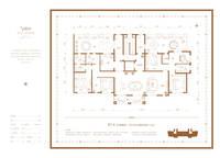 汇君城5室2厅3卫户型图