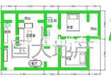 西美国际城商圈 银通小区 精装一室 家具家电可配
