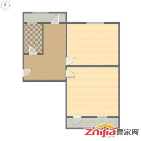 43中一楼带院有车位纺器厂宿舍 61平130万 2室1厅1卫