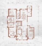 铂宫后海4室2厅3卫户型图