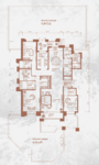 铂宫后海5室3厅3卫户型图