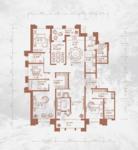 铂宫后海5室3厅4卫户型图