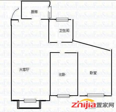 多层三楼2号线口 尚乘源国瑞园北城国际旁单价1.6万急售