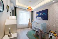梦湖孔雀城 8--100平米婴儿房