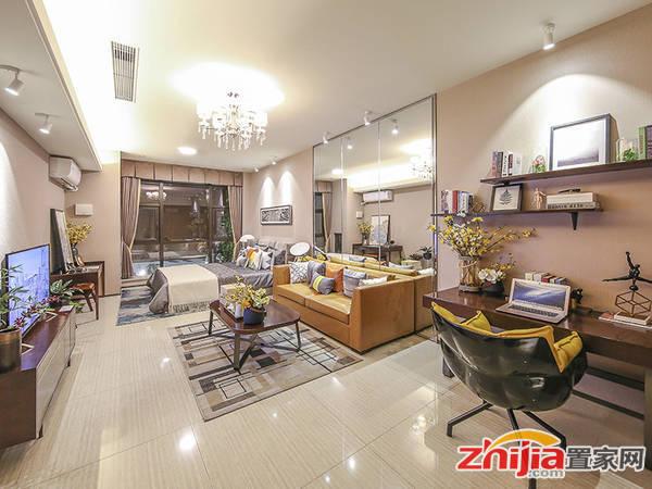 恒大中央广场 精装平层公寓54平米样板间