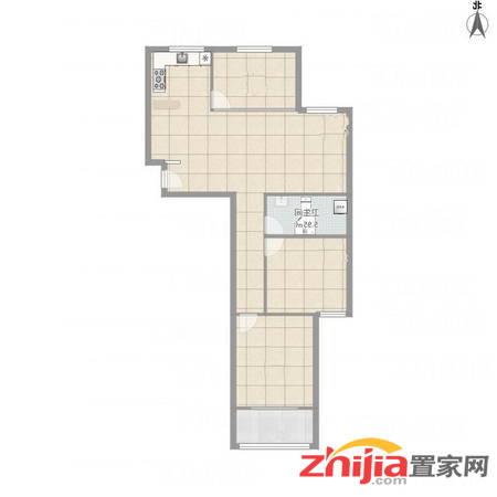 卓昱西苑 3室2厅1卫 120m² 价格98万