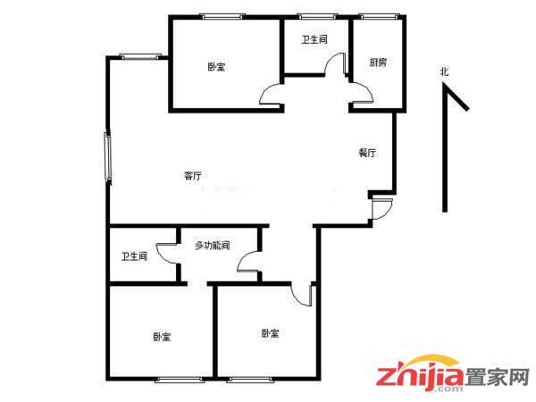 谈固尚达家园三室两厅两卫个人低价急租