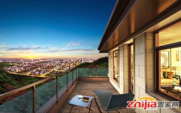 龙湖•天宸原著 阳台半鸟瞰