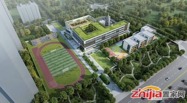 安联生态城 学校鸟瞰图