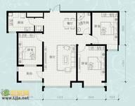 荣盛锦绣花园 3室2厅1卫 126m² 租金1800元/月