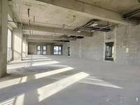 新百商圈双地铁口中交财富单层1600平可分租无室内柱