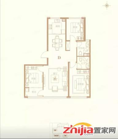 出售建华高端小区蘭园五证齐全户型好通透三室