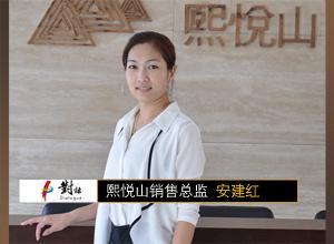 赢在城市正中心 -----专访熙悦山销售总监安建红
