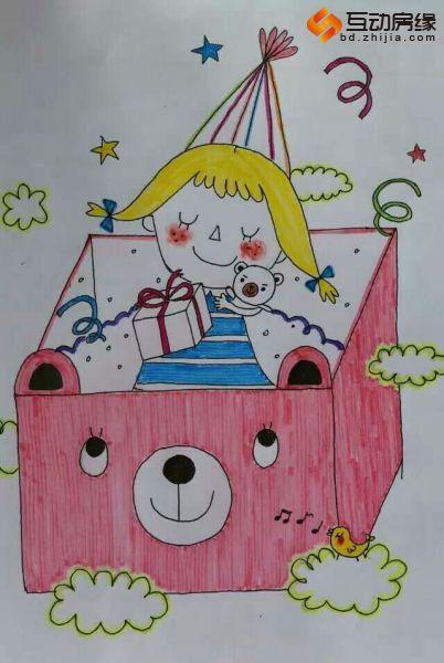 """六一""""得意之作""""儿童网络趣味绘画大赛全部作品图片"""