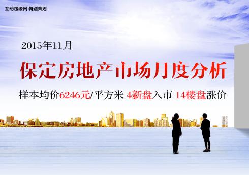 11月保定房地产市场分析报告