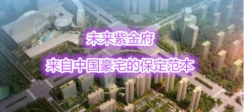 未来紫金府:来自中国豪宅的保定范本